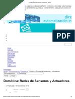 Domótica_ Redes de Sensores y Actuadores - InfoPLC