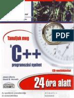 Tanuljuk meg a C++ programozási nyelvet 24 óra alatt