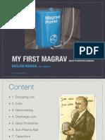 My First Magrav - English Manual - Version 1