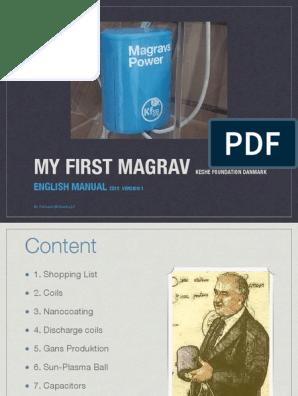 Magrav power unit test