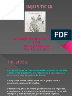 Power Point Injusticia-Leinadys