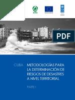 Cuba Metodologias Para La Determinacion de Riesgos de Desastres a Nivel Territorial