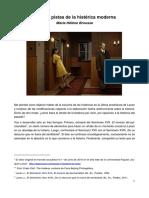 Brousse, Marie-Hélène - Tras Las Pistas de La Histérica Moderna