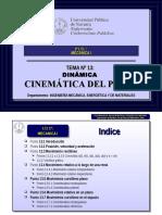 Tema 13 Cinematica Del Punto