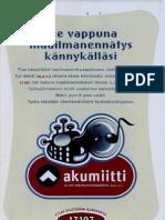 Akumiitti Nylon Beat Guiness Record