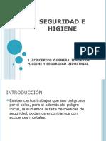 Conceptos de Higiene y Seguridad Industrial