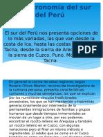 La Gastronomía del sur del Perú.pptx