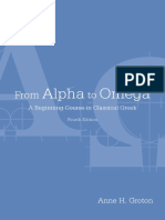 From Alpha to Omega - A Beginning Course in Classical Greek