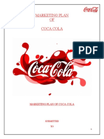 coca cola marketing report by WALEED