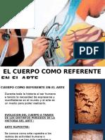 El cuerpo como referente en el arte  Jeveline Pizarro.pptx