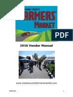 Clarke County Vendor Manual 2016