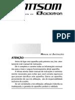 Manual Mesa de Som MXS_SD
