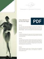 Part Des Anges [en] PDF