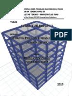 Tugas Struktur Beton II Desain Gedung Perkantoran Lantai 7 Di Pekanbaru