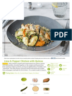 Lime & Pepper Chicken with Quinoa