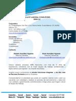 Carta de Presentación EL 2015