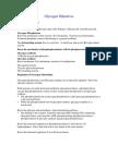 Glycogen Objectives