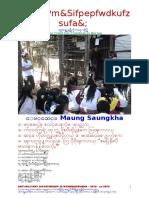 Anti-military Dictatorship in Myanmar 0870-2nd Ed