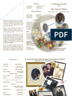 Wharton Funeral Program (tri-fold)