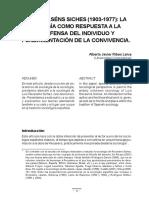 Sociologia de Luis recansen richetz