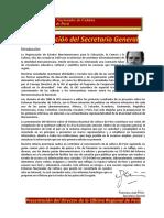 Sistemas Nacionales de Cultura - Perú, OEI 2001, 281p