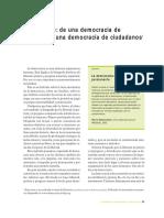 PNUD - Dante Caputo - Pag 35-48 - El Desafío de Una Democracia de Electores a Una Democracia de Ciudadanos