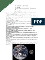 Los Movimientos de La Tierra y de La Luna