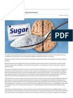YaleNews Sugar Rush Shrinks Brain Cell Powerhouse