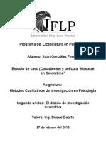 Estudio de Caso y Película Masacre en Colombine
