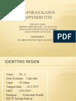 Lapsus Appendisitis Perforata