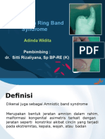 Constriction Band Syndrome ADN