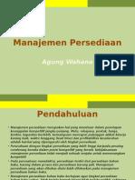 Sesi 5 - Manajemen Persediaan