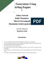 Stirling Engine Presentation