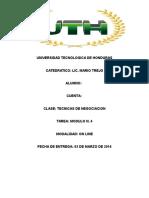 Tecnicas de negociacion del modulo N. 5 de la universidad tecnológica de Honduras UTH