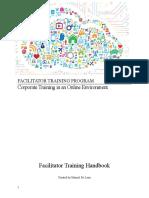 facilitator traingin program