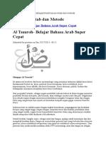 BAHASA ARAB Al Tsauroh- Belajar Bahasa Arab Super Cepat