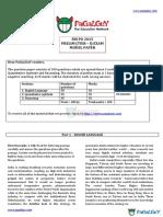 SBI PO 2015 Prelim Model Paper (Pagalguy)