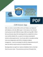 CGM Sensor App