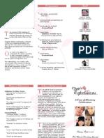 Chap's Expressions Brochure (tri-fold)