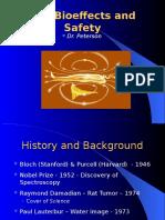 MRI Bioeffects and Safety
