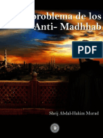El Problema de los Anti Madhab