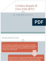 Perawatan Cedera Kepala Di Intensive Care Unit
