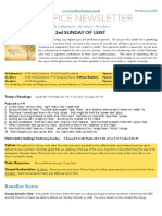 benefice newsletter 28 feb 2016 ready for word export