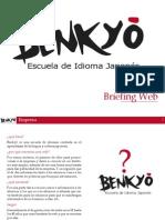 Briefing Web - Benkyou