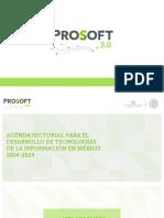 Agenda Sectorial PROSOFT 3.0