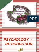 Psychology Intro
