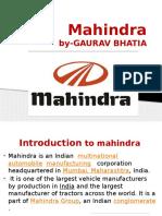 Mahindra Ppt. 1