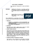 Agency legal Forms