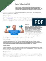 Tips Menjaga Kesehatan Tubuh Laki-laki