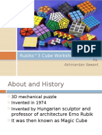 Rubiks 3 Cube Workshop